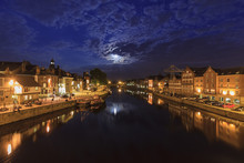 Moon Rise Above The River At Y...