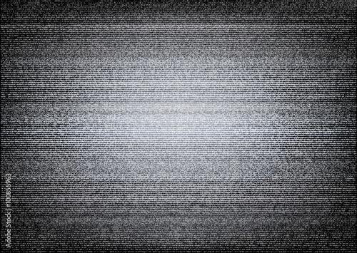 Fotografie, Obraz  No signal TV illustration. Scalable vector. Error concept