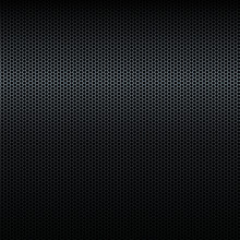 Seamless Vector Black Metal Texture With Highlight