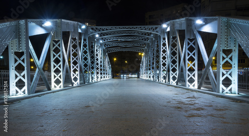 Papiers peints Pont Iron bridge in Murcia V