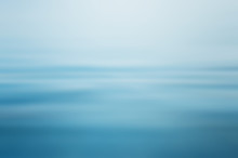 Abstract Clear Blue Water In B...