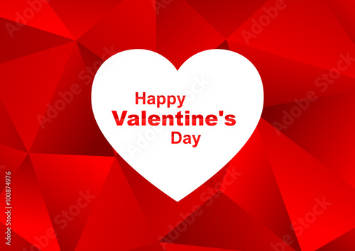 Valentines day greeting wallpaper with low poly effect buy this valentines day greeting wallpaper with low poly effect m4hsunfo