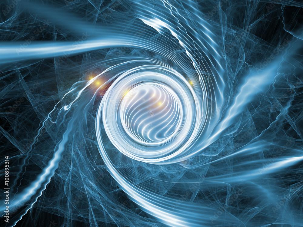 Fototapeta Spiral Acceleration