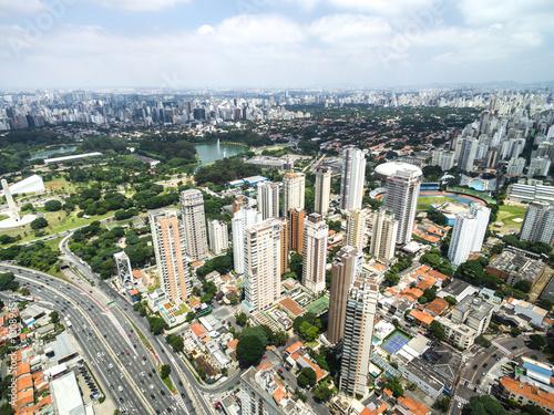 Foto op Aluminium Toronto Aerial view of Sao Paulo, Brazil