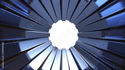 Blue Metal Tunnel