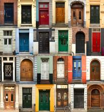 Collage Of Danish Doors