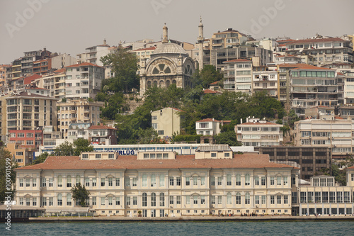 Fotobehang Midden Oosten View of the busy housing complex of Istanbul, Turkey