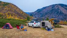 Teardrop Trailer, Camping