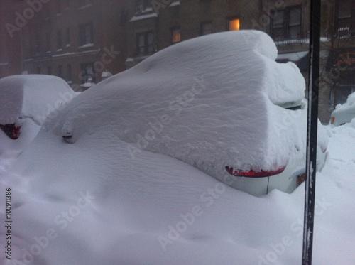 Big storm in New York City