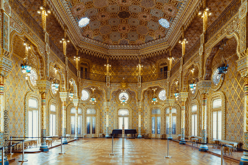 Arab room in the stock exchange palace in Porto.