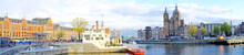 Panorama From Amsterdam With T...