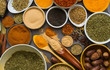 The spice and herb for healthy care, cooking foods.