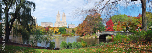 Obraz na płótnie New York City Central Park Autumn panorama