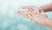 Washing Hands. Hygiene Concept...
