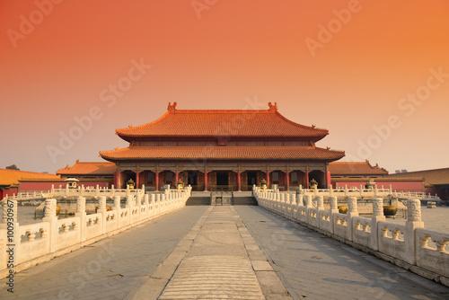 Poster de jardin Pekin Forbidden City