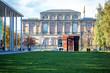 canvas print picture - Alte Pinakothek  und Pinakothek der Moderne in München