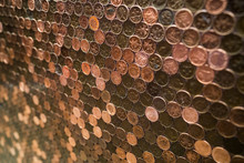 Penny Copper Wall
