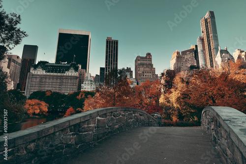 Photo Central Park Autumn