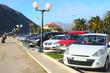 Car parking in Bar, Montenegro