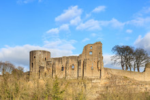 Barnard Castle.  Barnard Castle Is A Ruined Medieval Castle In County Durham, Northern England In The Town Of The Same Name.