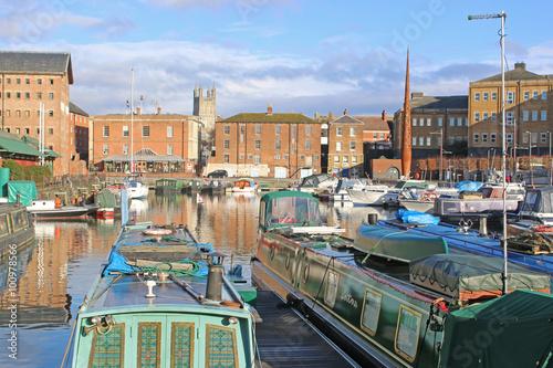 Fotografie, Obraz Gloucester Docks