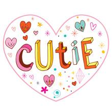 Cutie Heart Shaped Love Design...