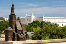 Castle In Lublin And Model Of ...