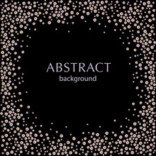 Abstract Black Backdrop With S...