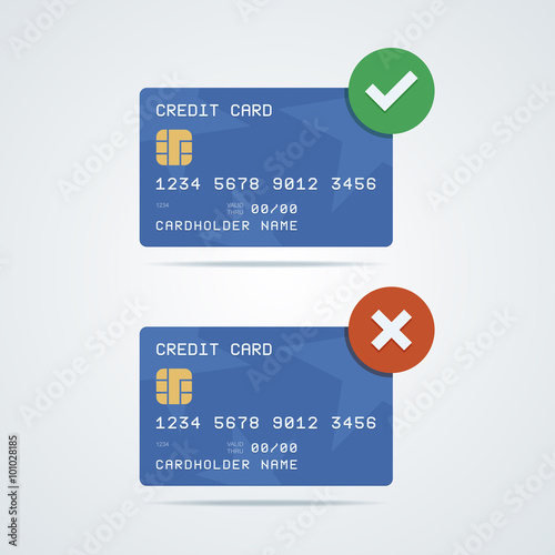 credit debit card with chip number cardholder name and
