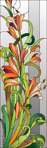 kwiatowy-wzor-witrazu