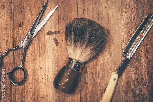 Obraz na plátně  Grooming nástrojů.