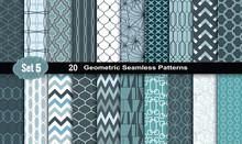 Geometric Seamless Patterns., ...