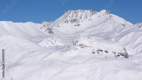 Foto op Plexiglas Alpinisme Austrian Alps in Winter