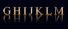 "Golden Alphabet From "" G"" To ""..."