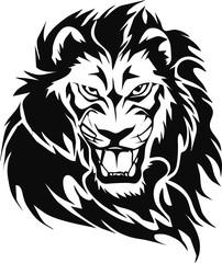 Fototapeta Lew lion head