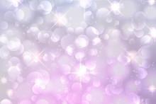 Light Purple Bokeh Background