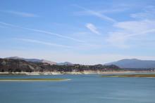 Cachuma Lake In Southern Calif...