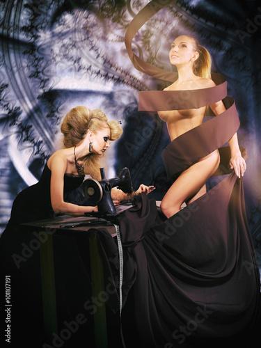 Poster Pleine lune Fairy dressmaker