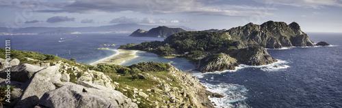 Tuinposter Eiland Islas Cíes