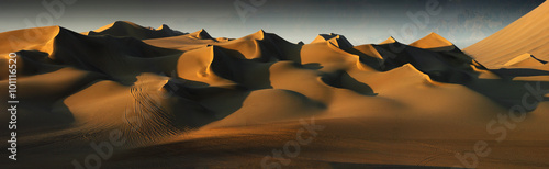 Photo sur Aluminium Desert de sable desert