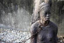 African Slave Trade Statue