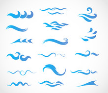 Wave Icon Vector Collection
