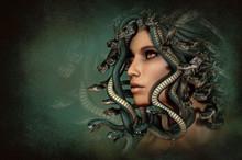 Medusa, 3d CG