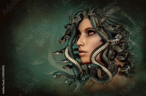 Photo Medusa, 3d CG