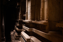 Exploring The Vittala Temple At Hampi, India.