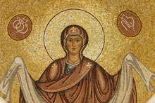 The Image Of St. Mary Mosaic Georgia Caucasus