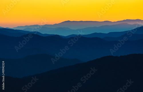 Fotobehang Bergen Great Smoky Mountains National Park
