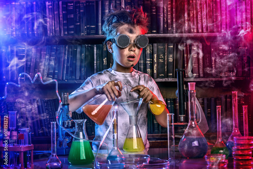 Fotografia  chemistry for kids