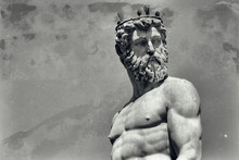 Vintage Image Of Neptune