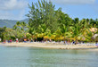 Martinique, picturesque village of Sainte Anne in West Indies